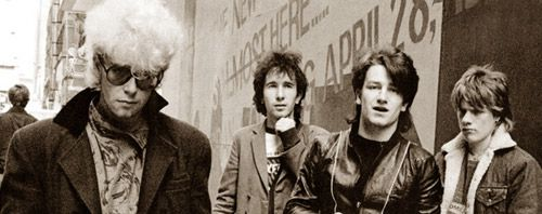 U2 -Early Days -11/04/1977 -École St Fintan -Dublin -Irlande