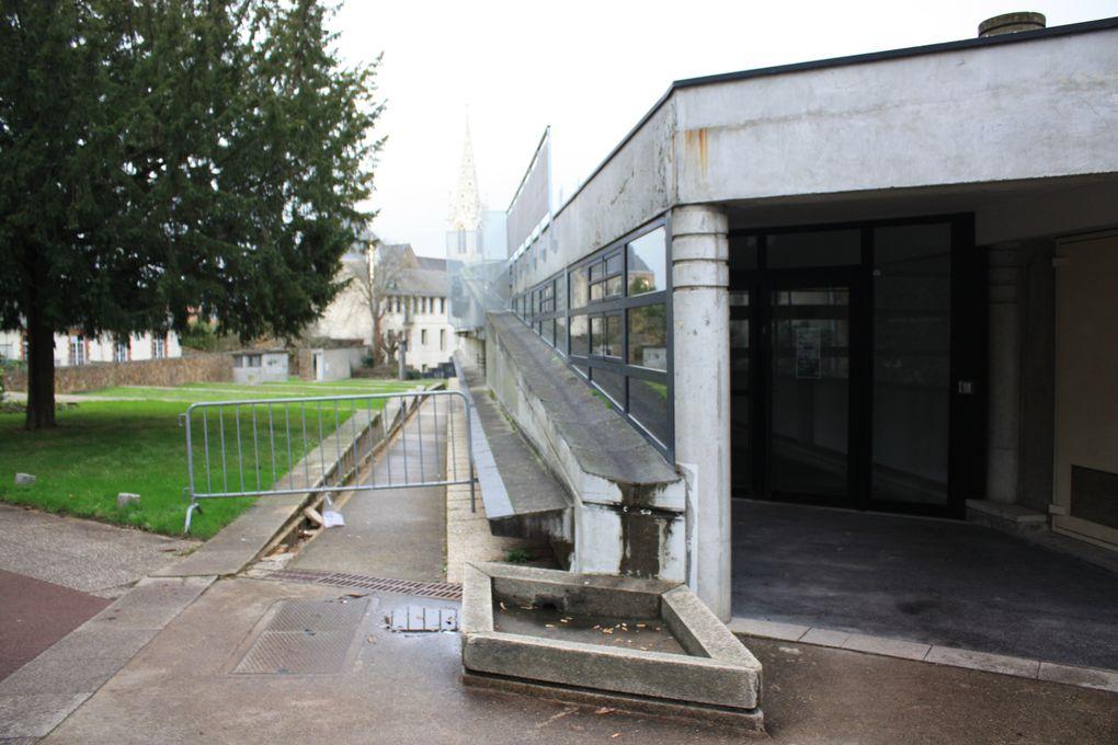 La Cité radieuse Le  Corbusier à Rezé-les-Nantes, Photos E&M CRIVAT 2011