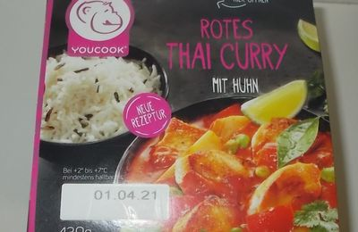 YouCook Rotes Thai Curry mit Huhn