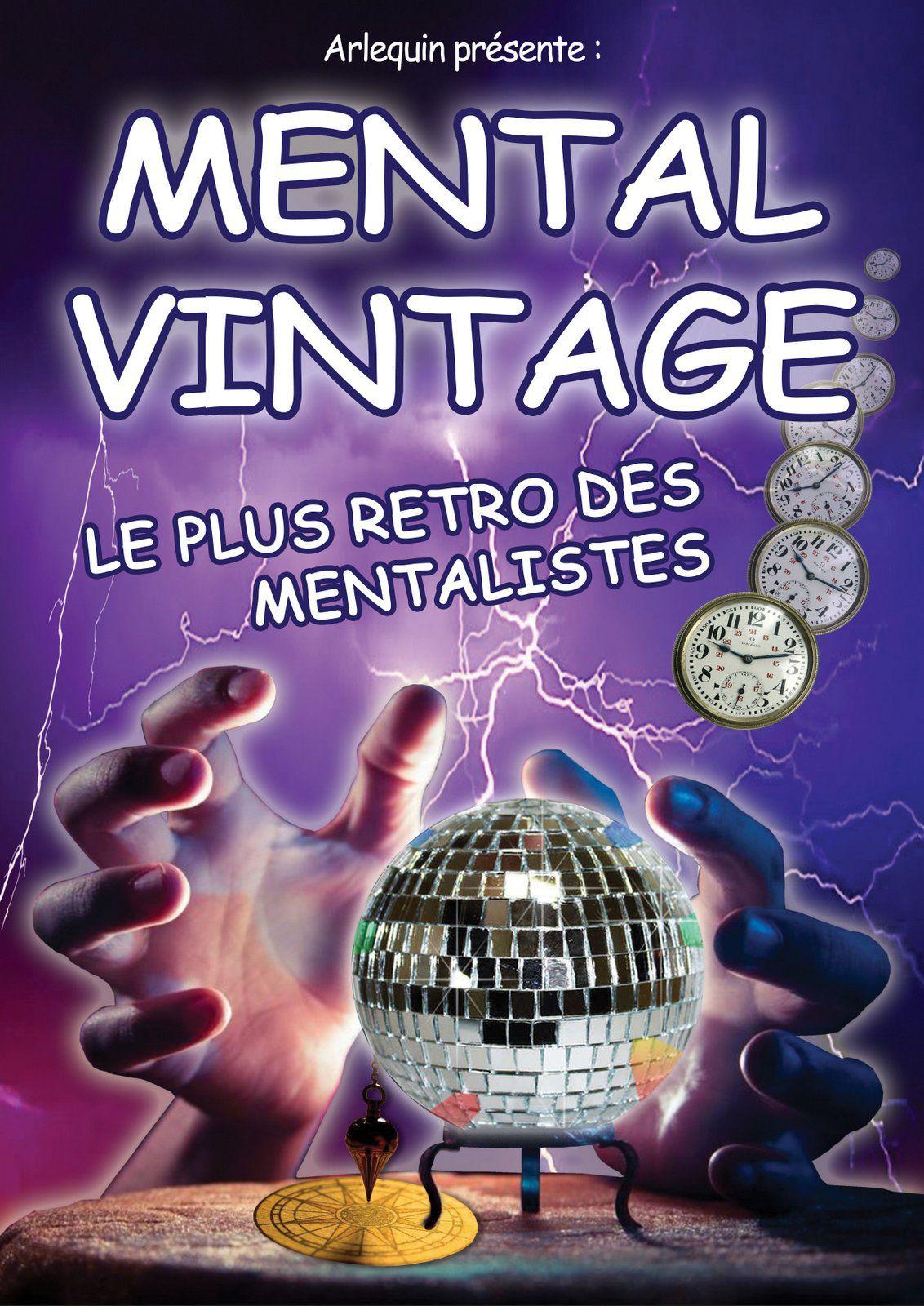 mental vintage, mentalisme, nuits du off, frejus, magie, arlequin