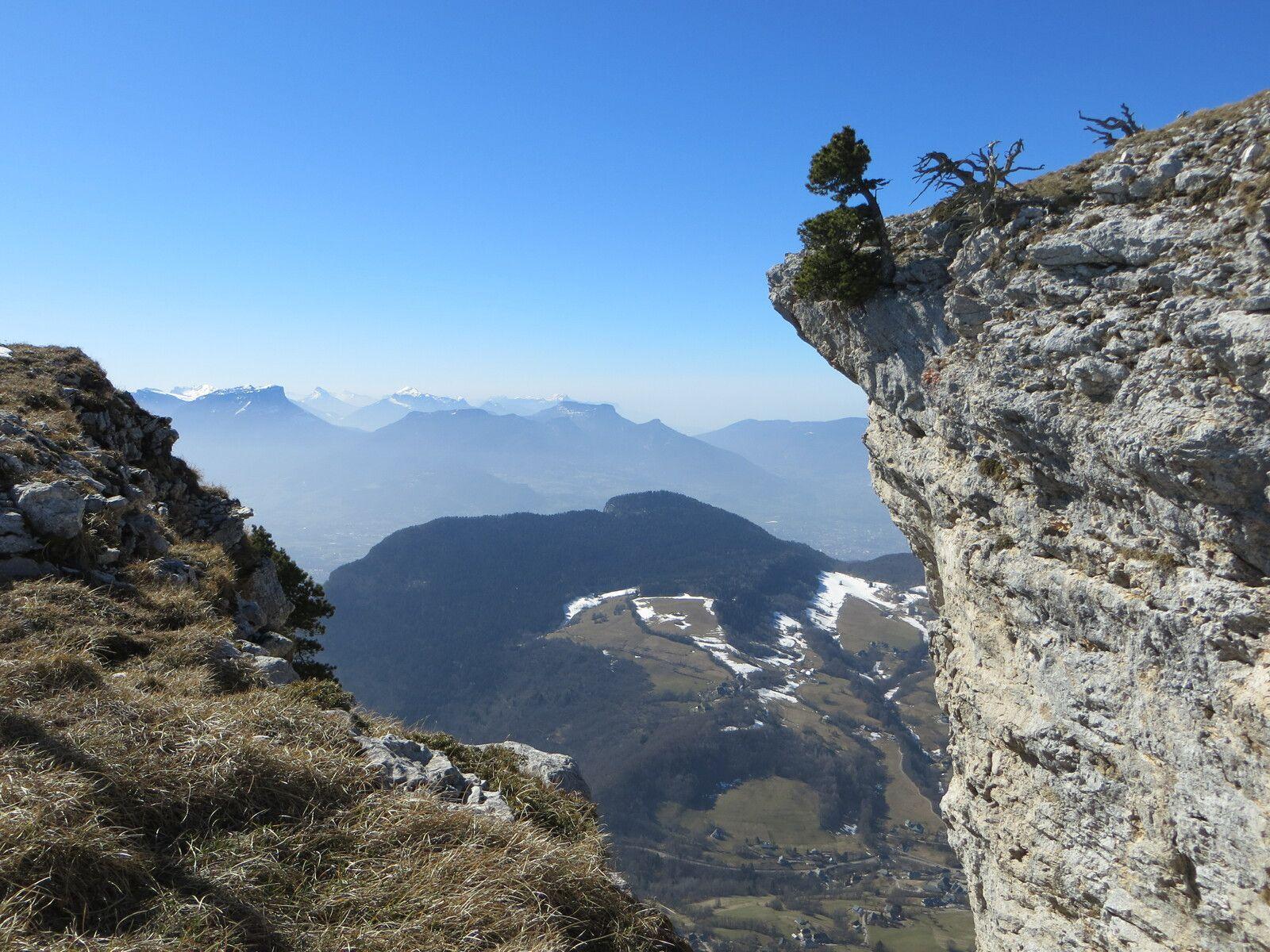 Vue sur le massif de Belledonne