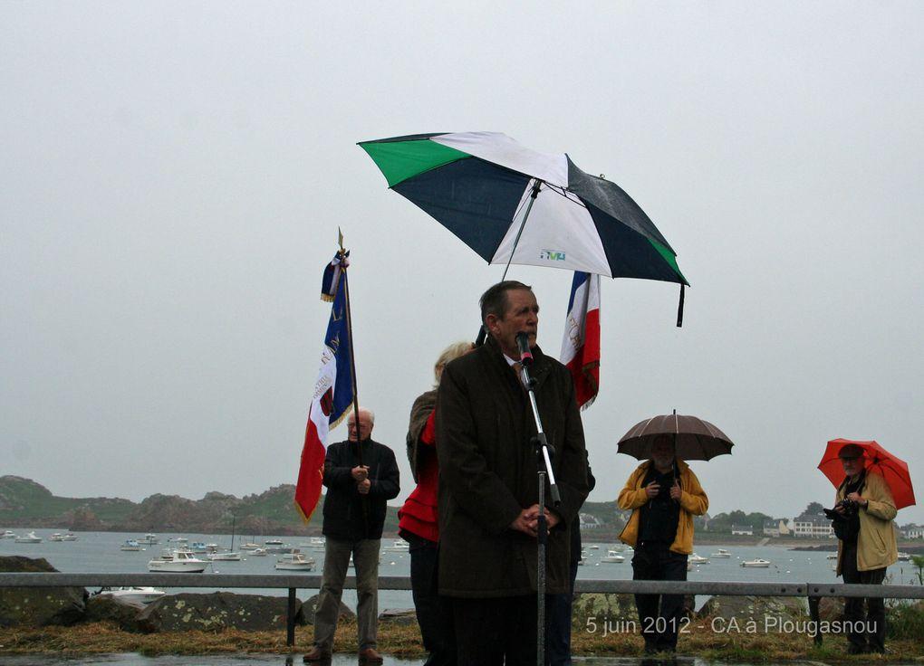 Mardi 5 juin 2012 - Le CA et les bénévoles de l'association Aux Marins en visite  à Plougasnou. Photographies : Jean-Luc Le Bris et Gilbert Kervran (Ass Aux Marins)