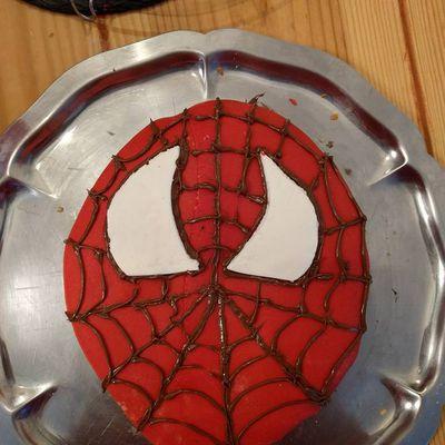 Gateau spiderman 2
