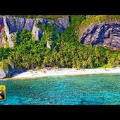4K Video Ultra HD - Fly Away to a Tropical Island!