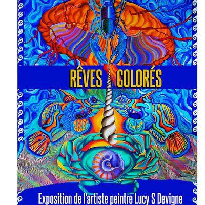 COMMUNIQUÉ DU CENTRE CULTUREL DE BRIVE : exposition de l'artiste peintre Lucy S Devigne