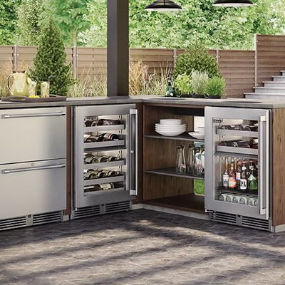 Outdoor Bar Fridge: Refresh Your Summer Days the Right Way