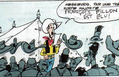 Lucky Luke avait prévu la victoire de François FILLON !