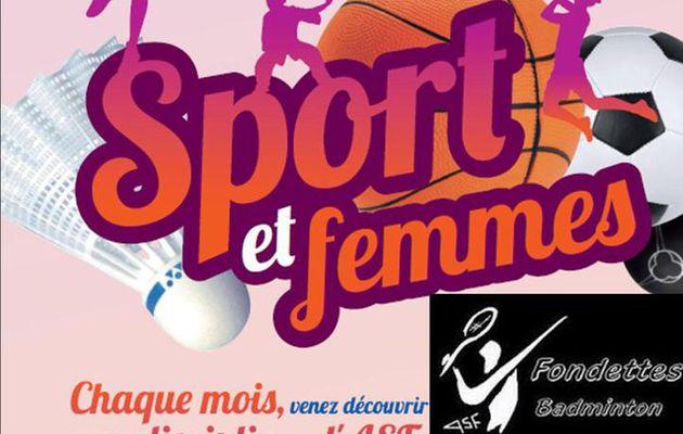 Sport et Femmes : Bad et Judo au programme !