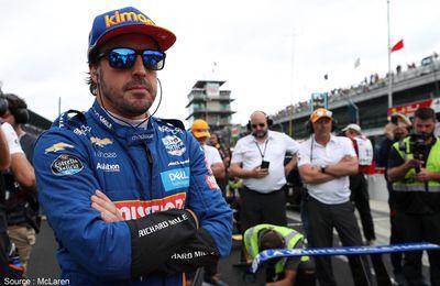 Fernando Alonso de retour à Indianapolis avec McLaren