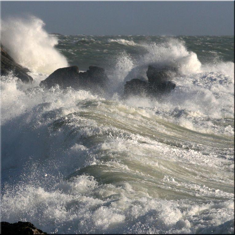 Les carrés de Tempête Atlantique - Photos Thierry Weber Photographe de mer à La Baule Guérande