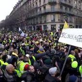 Christophe Castaner ROI des fake news avec des journalistes complices et complotistes sur les gilets jaunes