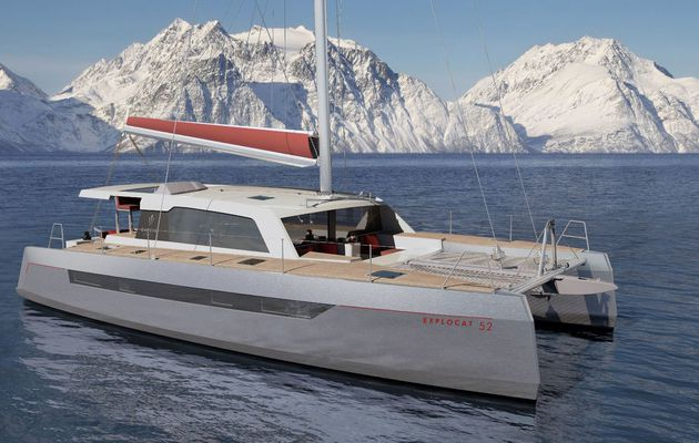 Garcia Explocat 52, an aluminium exploration catamaran, to go to the end of the world