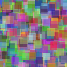 Colored Squares Screen Saver