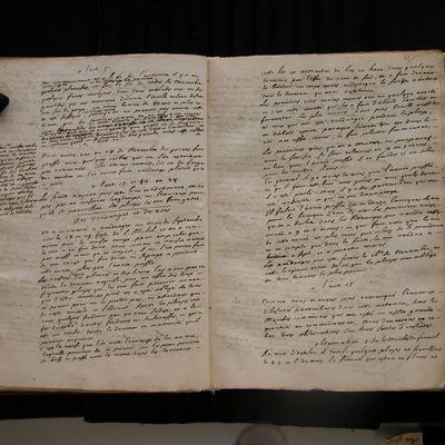 """""""Observations sur le pays de Cadillac de 1717 à 1738"""""""