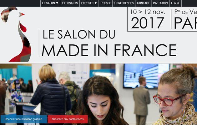 Salon du MADE IN FRANCE 2017, demandez votre badge dès maintenant