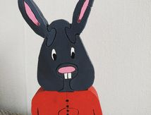 Puzzle Fred le lapin