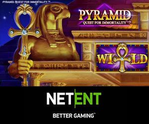 NetEnt lance le jeu Pyramid: Quest For Immortality