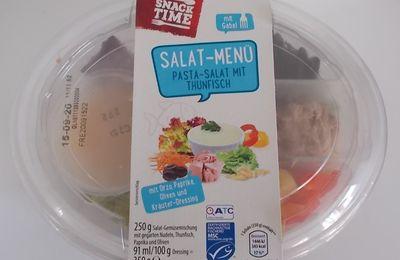 [Aldi] Snack Time Salat-Menü Pasta-Salat mit Thunfisch
