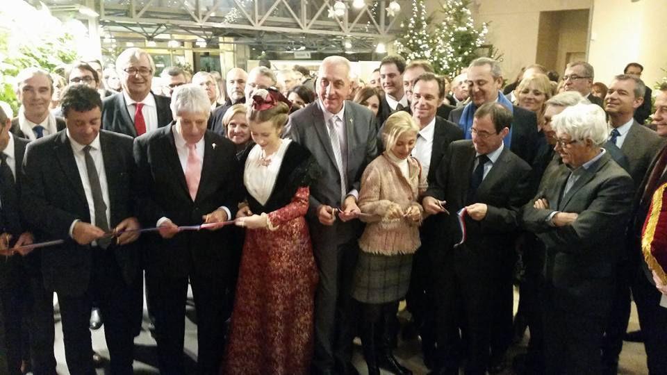 Roland CHASSAIN et Renaud MUSELIER participent à l'inauguration de Provence Prestige