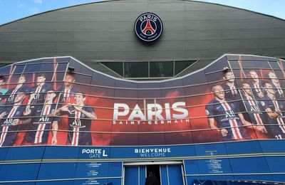 Visite du Parc de Princes , Paris Saint Germain, PSG : Football