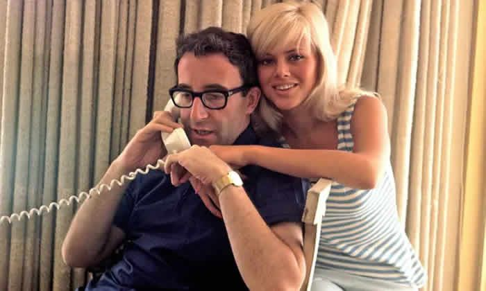Britt Ekland with Peter Sellers in 1965. The couple married after knowing each other for 'little more than three weeks'. Photograph: Pictorial Press Ltd/Alamy