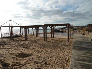 Démontage municipal de la plage Punta Cana