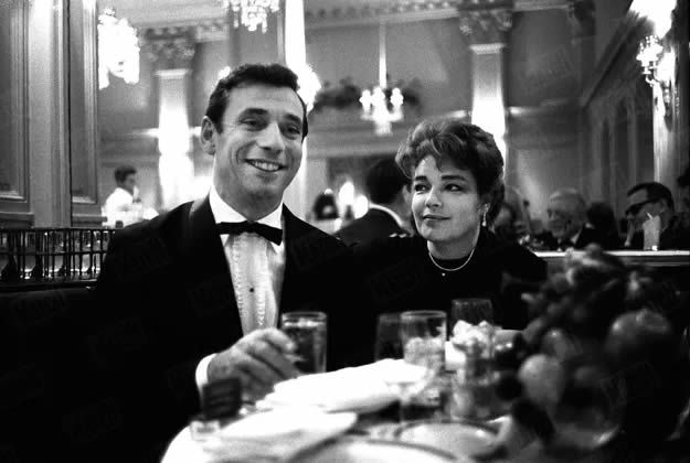 Simone Signoret et Yves Montand, à New York en octobre 1961. Paul Slade / Paris Match