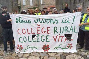 Baisse des dotations dans les collèges ruraux de Haute-Loire