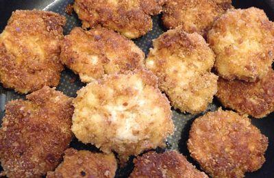 Nuggets de poulet fait maison