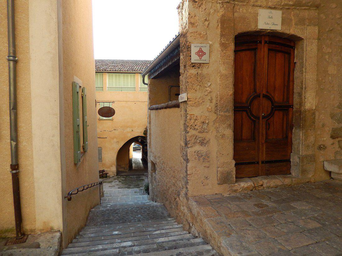 """""""Un des plus beaux villages de France"""" des alpes de Haute Provence"""