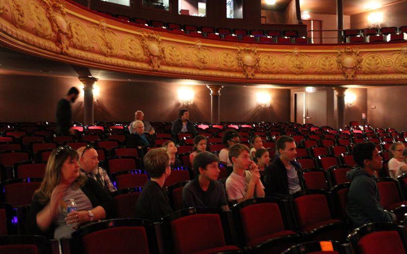 Les jeunes de l'Orchestre à l'école en visite à l'Opéra