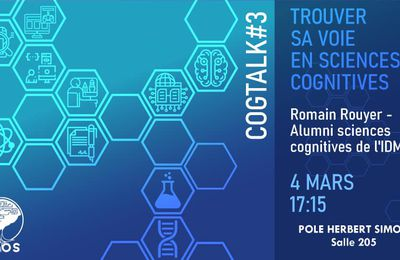Cogtalk #3 : Trouver sa voie en sciences cognitives