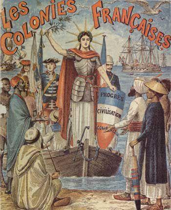 Image du colonialisme et de l'anticolonialisme