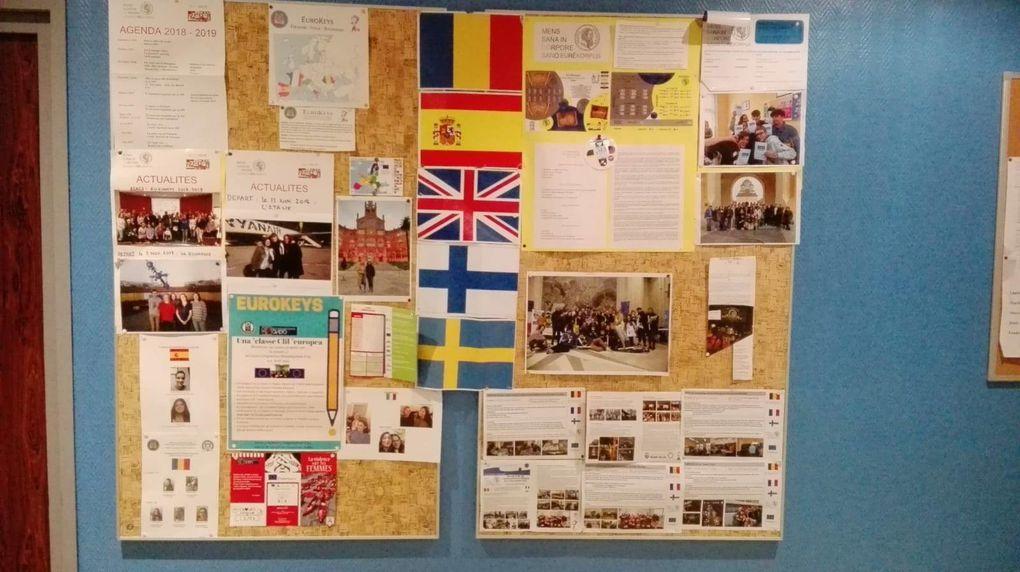 Le projet Eurokeys continue au Lycée Jean Bart et au collège Boris Vian…