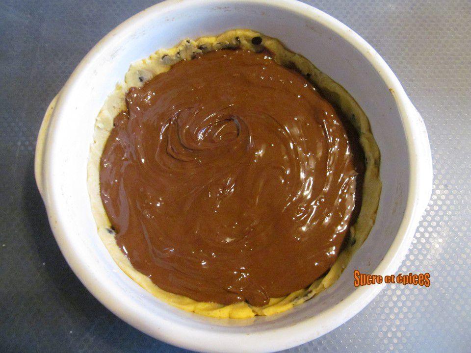 Cookie géant fourré au Nutella - Recette en vidéo
