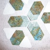 Tutorial-How to Make a Large Pieced Hexagon