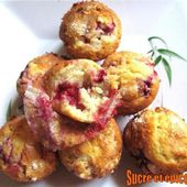 Muffins aux framboises - www.sucreetepices.com