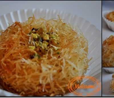 Angel Hair Delights -- Ktayef Fourrés aux Amandes --