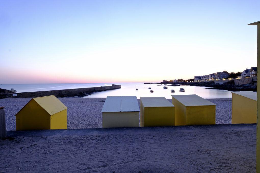 Le charme des cabanes de plage, c'est dans mon inconscient collectif, le début du 20 ème siècle avec ces maillots de bain pudiques qui vous emballaient tout le corps....