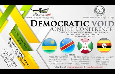 Amahoriwacu2017 : democratic void in African Great Lakes Region