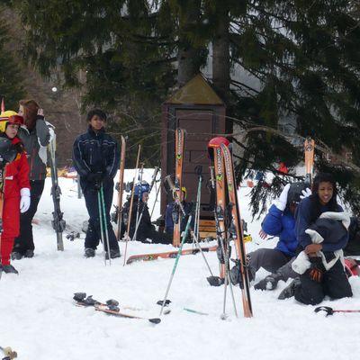 Premier jour de ski !