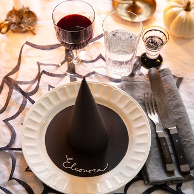 Sets de table et porte-noms pour Halloween