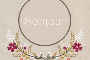 Bouquet Baroque - Petit point Compté - 2