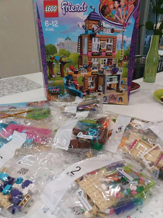 La maison de l'amitié avec LEGO friends - En route vers l'aventure !