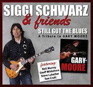 Weltweite CD-Veröffentlichung (Sony) am 26. August 2011: Die erste offizielle Gary Moore Tribute CD mit Tom Croèl und Siggi Schwarz