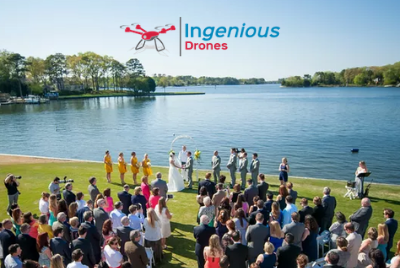Aerial Drone Photography for Events | drone event photography