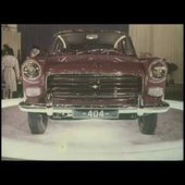 Peugeot 404 Official Intro -1960 (Lancement)