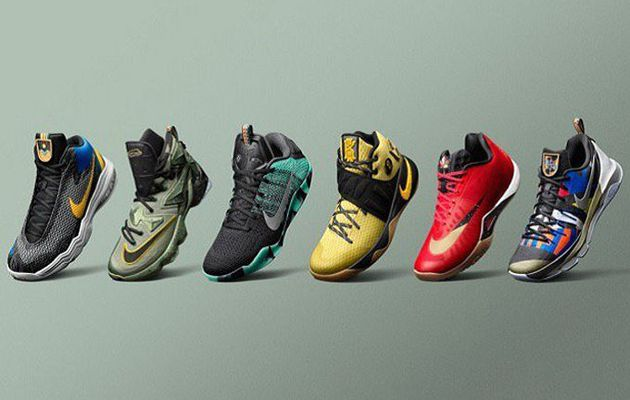 Nike dévoile sa collection spéciale All Star Game