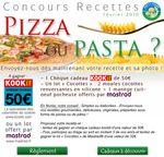 Concours de recettes Certiferme de février 2010 - Pizza ou Pasta?