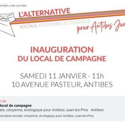 Le 11 janvier, l'Alternative, sociale, citoyenne et écologique dans son local et dans les luttes